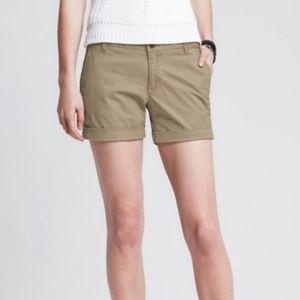 Banana Republic chino shorts 0